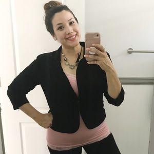 Lauren Conrad Black Blazer 3/4 Sleeve